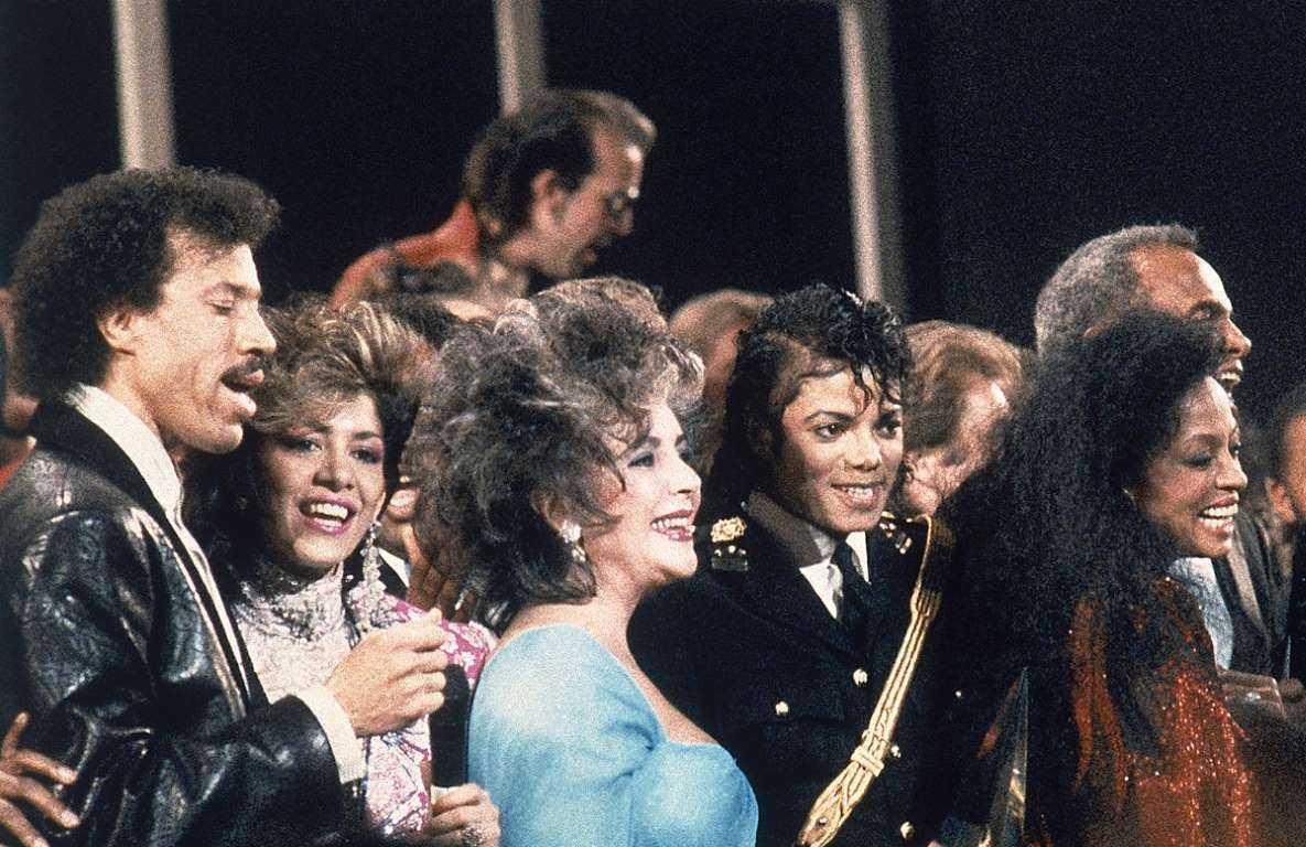 Amazing Historical Photo of Lionel Richie with Sheila E. in 1986