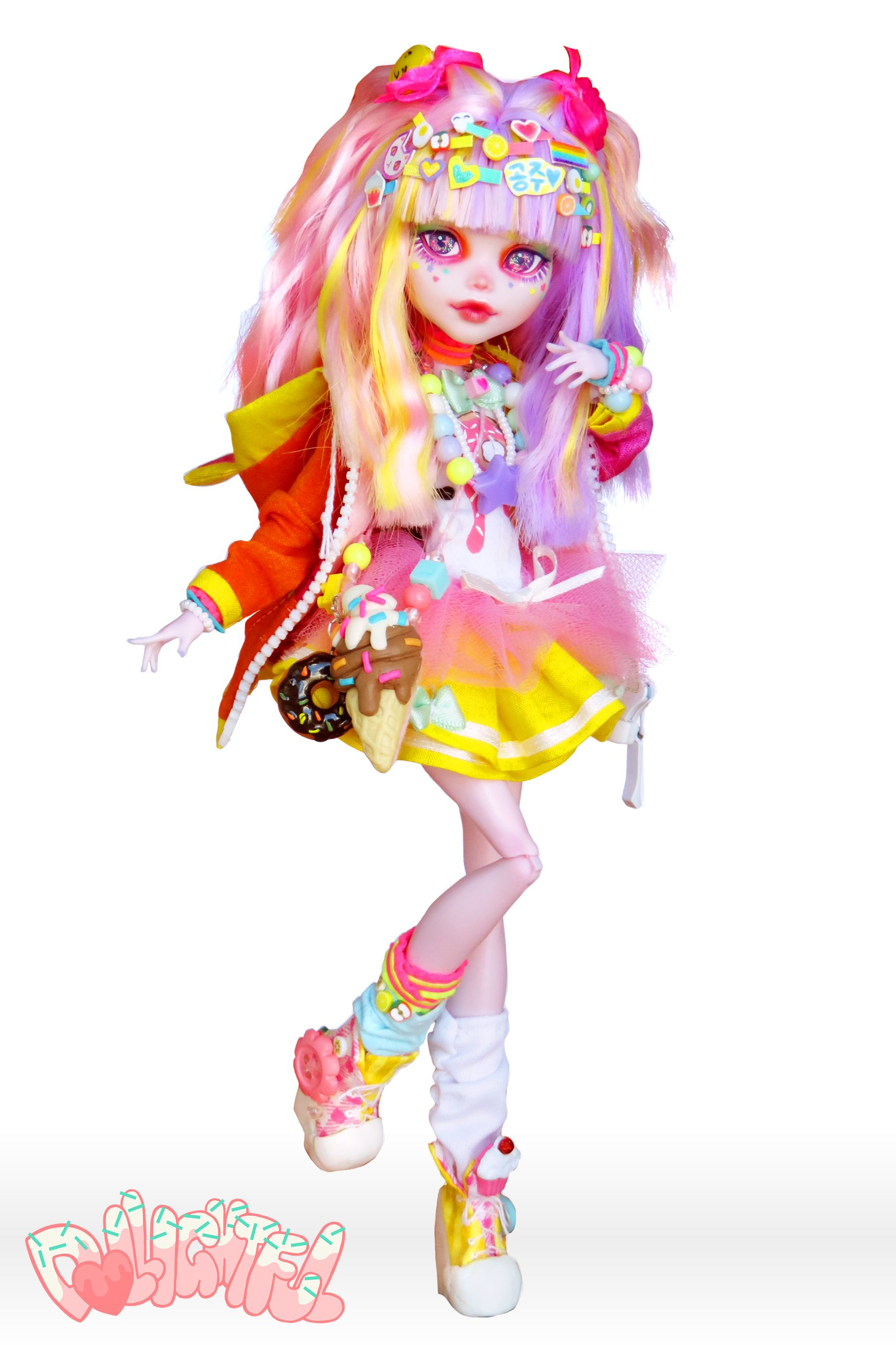 Decora Ayako Decora Kei Harajuku Fashion Doll By Dollightful