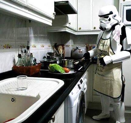 Tenemos cocinas para todos, no lo dudes   #MueblesDeCocina #StarWars #Cooking #CocinasDeMadrid
