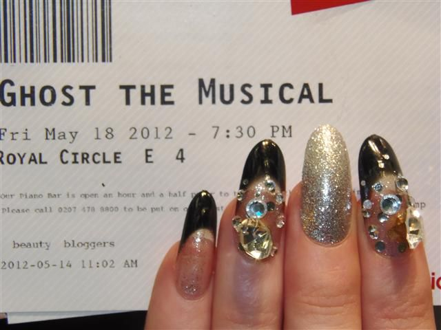 Indulge In... - Ghost the Musical and Nazila Love Glamour Manicure  AMAZING Night!!
