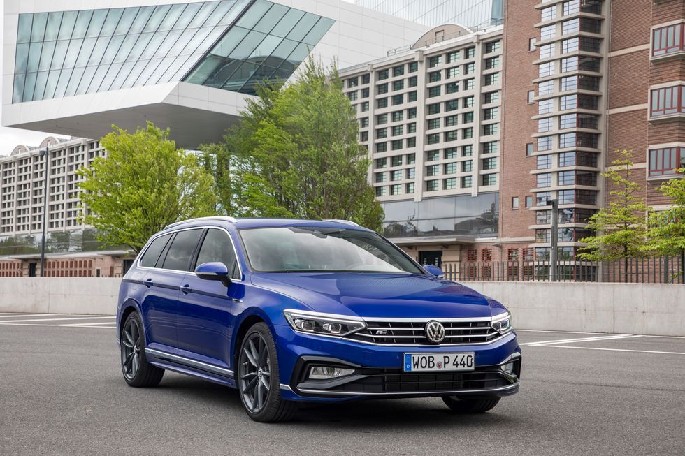 Europe S 2020 Vw Passat Variant Is Slightly Forbidden Fruit In 2020 Volkswagen Passat Volkswagen Vw Passat