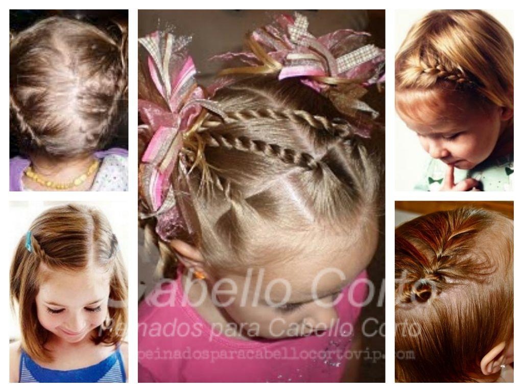 Peinados Para Niñas Cabello Corto Paso A Paso