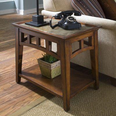 Riverside Furniture Andorra End Table U0026 Reviews | Wayfair