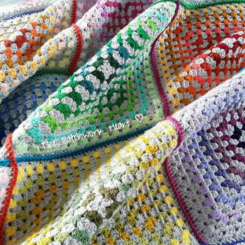 The Patchwork Heart: The Stylecraft Blog Tour ~ The Paintbox Blanket ...