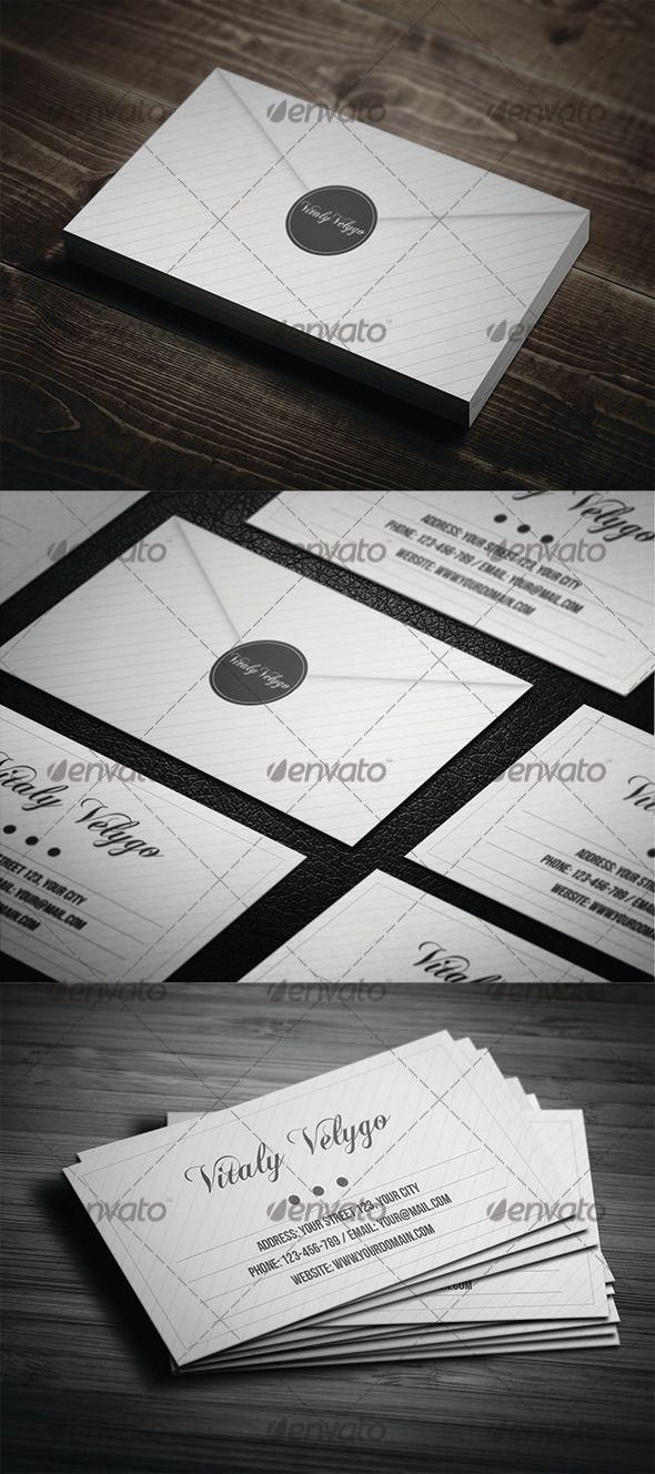 Letter style business card graphicriver item for sale graphics letter style business card graphicriver item for sale reheart Image collections