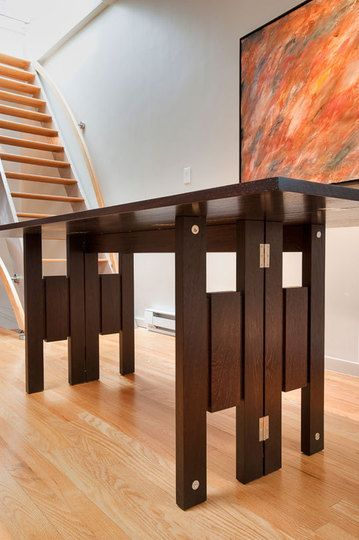 Transformer Table By Quentin Kelley Expandable Dining Table