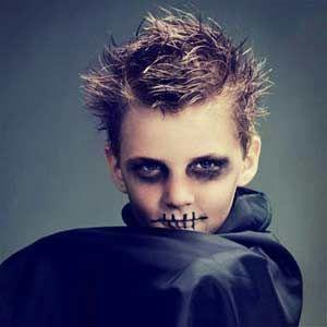 Kids\' Halloween Costume Makeup | Superhero makeup, Zombie makeup ...