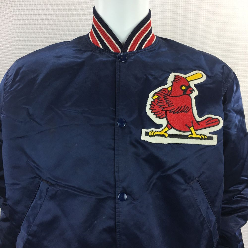 St Louis Cardinals Vintage Starter Jacket Medium Satin Baseball Jacket USA   Starter  StLouisCardinals e870048fd
