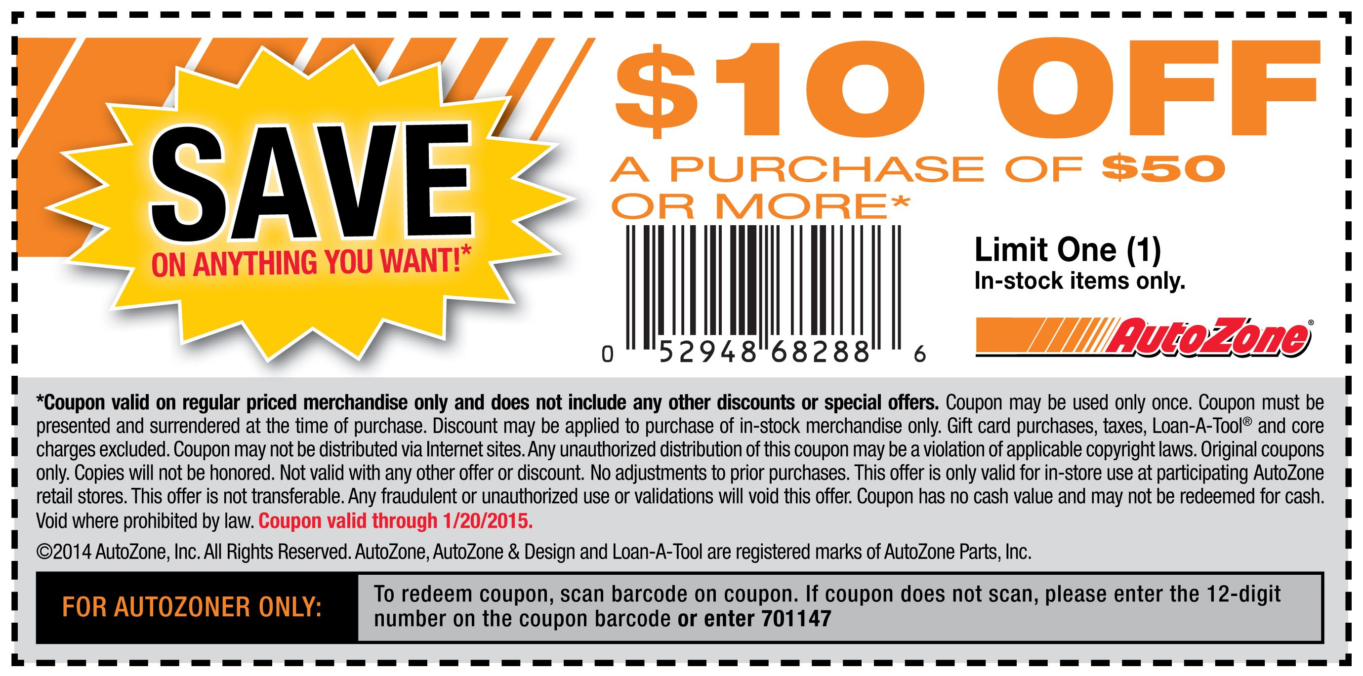 Autozone Coupons Coupon Apps Printable Coupons Free Coupons By Mail