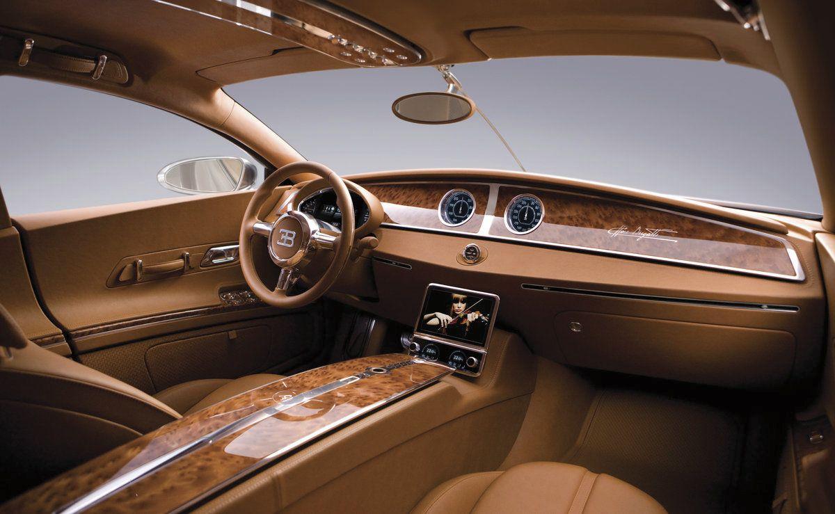 Merveilleux 2009 Bugatti 16 C Galibier Concept   Interior     Wallpaper