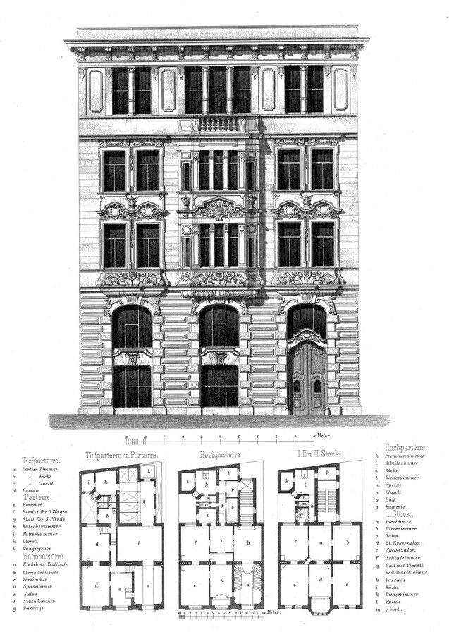 Vienna Residential Building Architecture Classical Buildings And