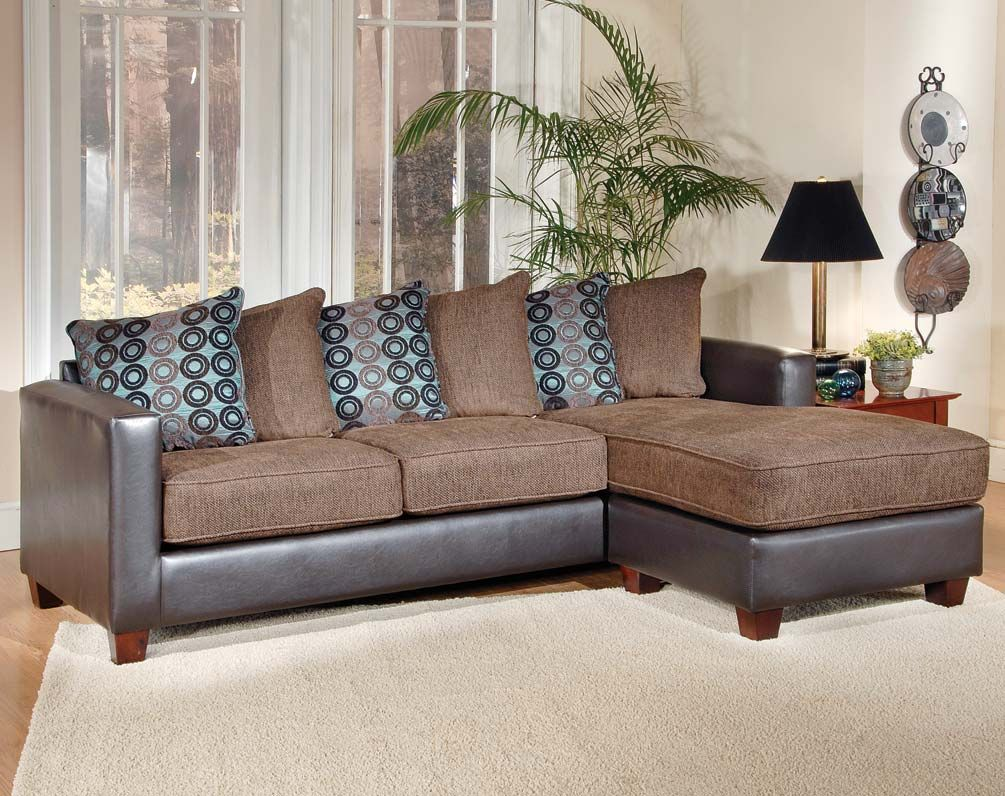 Brown Sectional With Chaise  San Marino Mocha Two Piece Sofa Delectable Cheap Living Room Set 2018