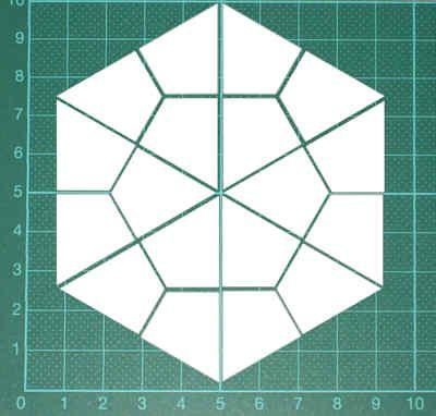 Hexagon hier gratis eine PDF-Datei mit Schablonen fürs Lieseln wie ...