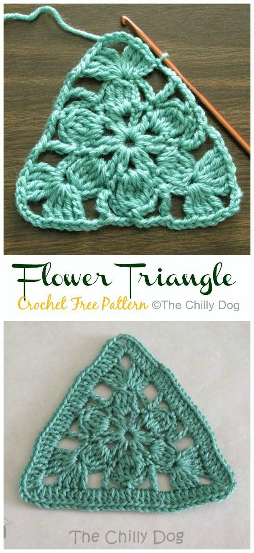 Crochet Triangle Free Patterns & Tutorials