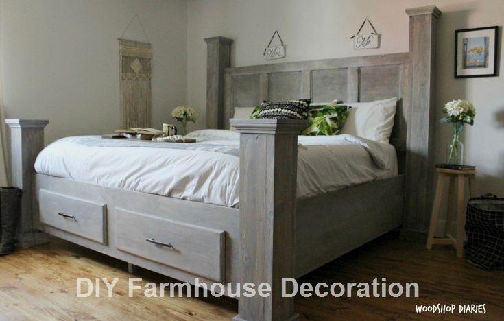Diy Easy And Great Farmhouse Decor Ideas Diyfarmhouse King Size
