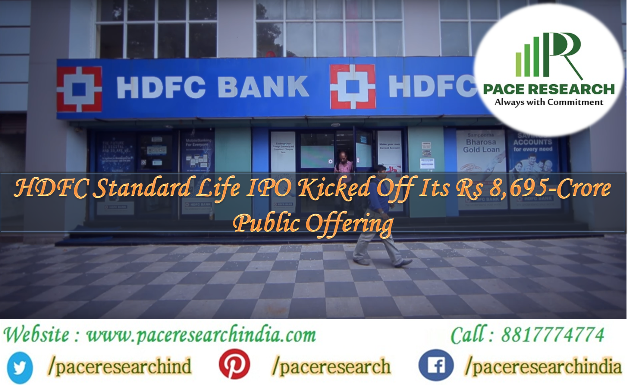 Hdfc Standard Life Insurance Company A Day After Raising Rs