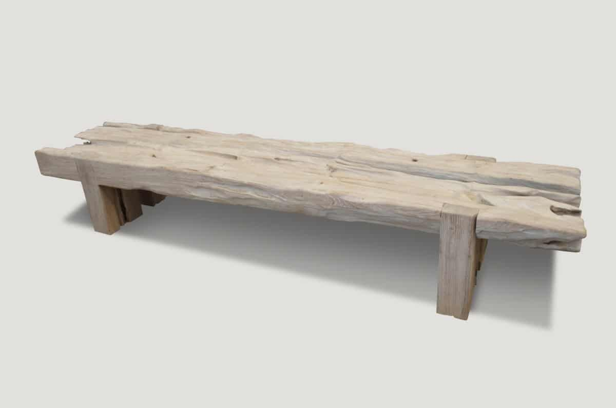 Coffee Tables Andrianna Shamaris Coffee Table Wood Coffee Table Teak Bench [ 795 x 1200 Pixel ]