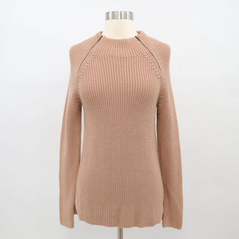 Banana Republic Sweater Pullover Wool Womens S Small Beige