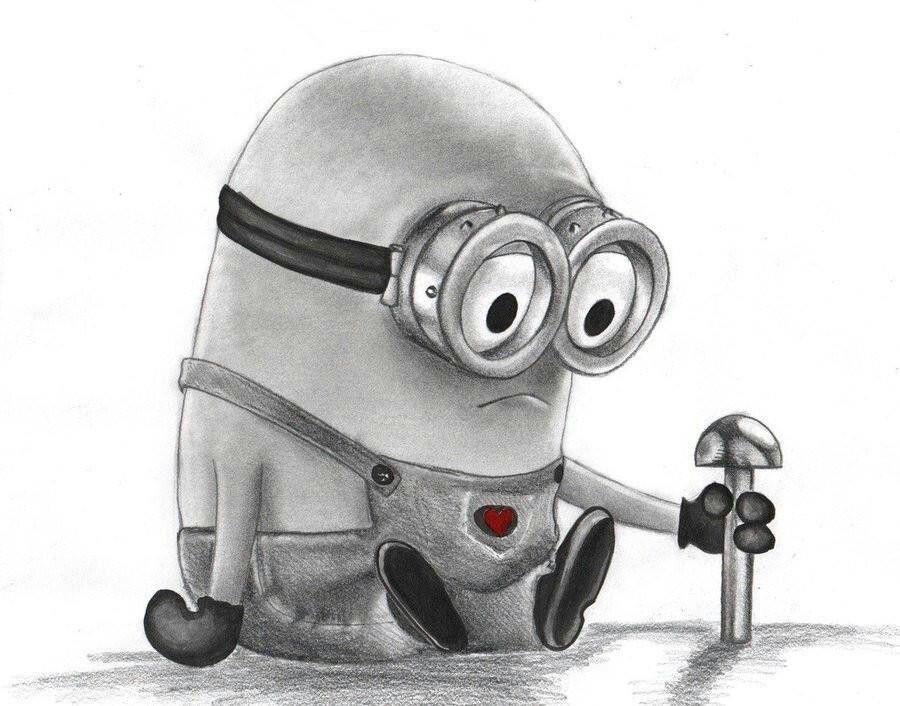 Sad Minion Minions Pinterest Minions Minion Sketch And Minion