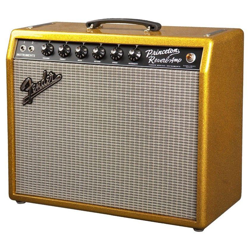 Fender '65 Princeton Reverb 15w 1x10 Combo FSR Sparkle Gold w/Celestion Alnico Gold