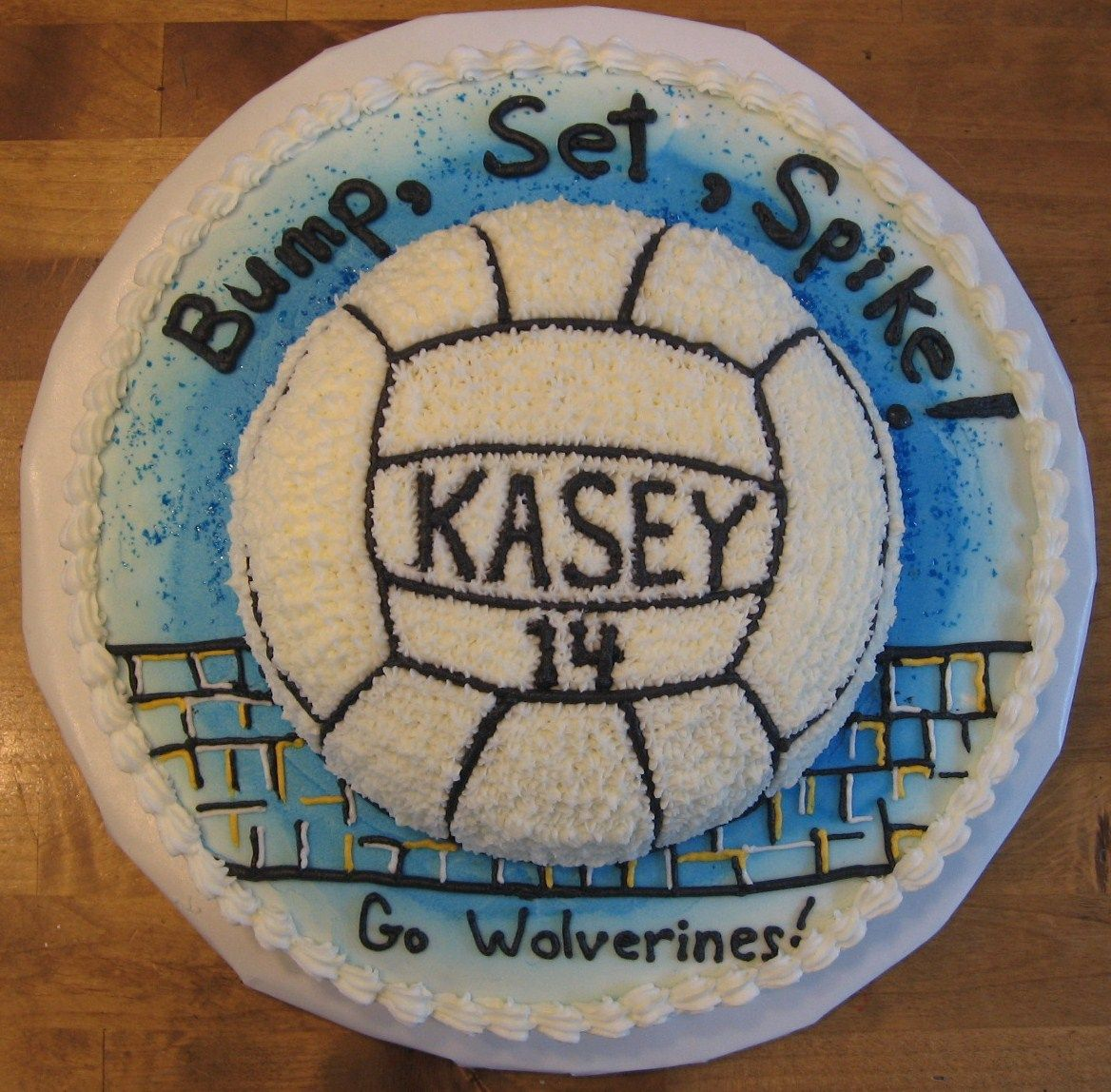 Volleyball Cake Volleyball Cakes Dessert Cupcakes Graduation Cakes