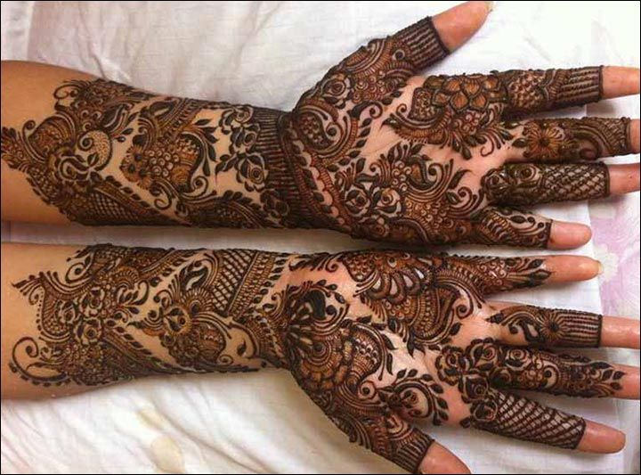 Mehndi Bridal Design : Rajasthani mehndi designs gangaur festival