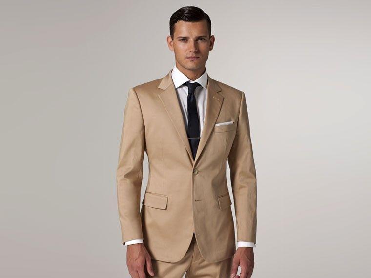 Ultimate Khaki Cotton Suit | Khakis