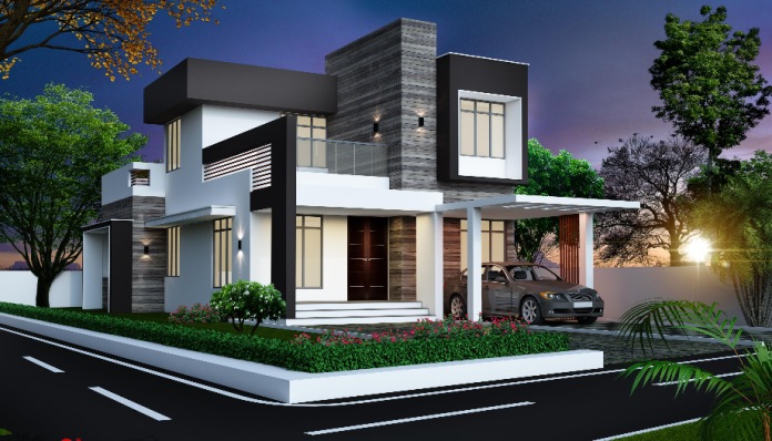 These Are New House Designs For 2016 Most Of These House Renditions Are Big Houses And Tw Contemporary House Design House Designs Exterior Modern House Design