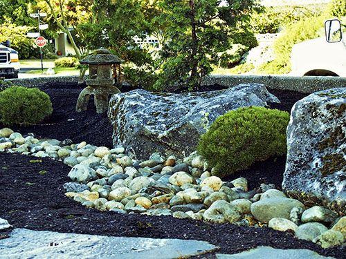 Japanese Rock Garden contemporary landscaping Pinterest