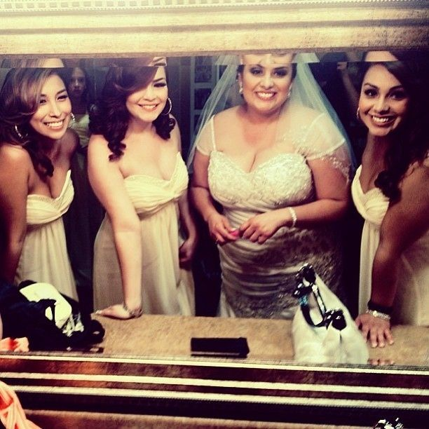 Playing dress-up and getting fluffy before the wedding.   The 28 Most Underrated Parts Of Being A Bridesmaid