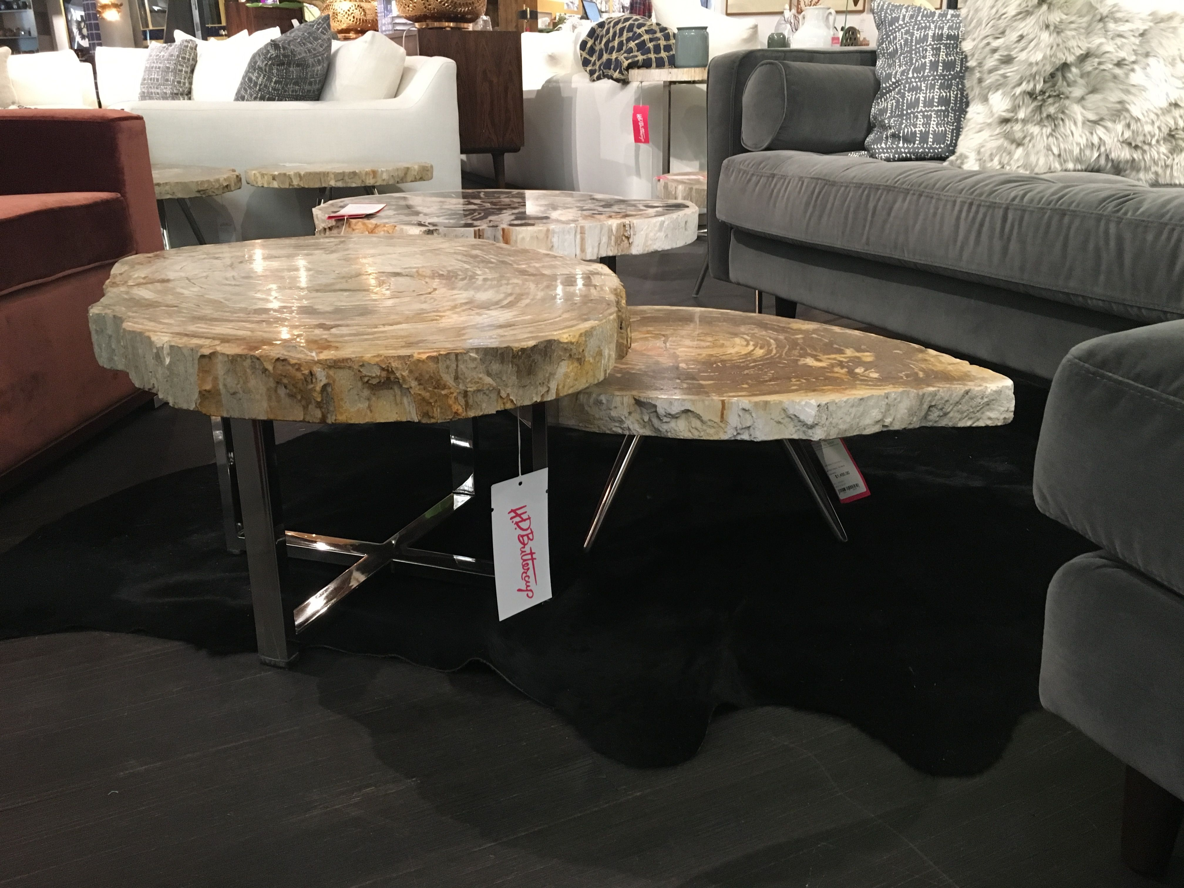 Stone Top Coffee Tables H D Buttercup 11 16 inches tall to 16 39