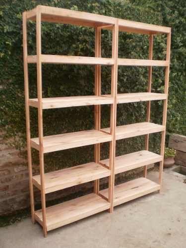 Estante para la cocina amueblado en 2019 pinterest - Estanterias en madera ...