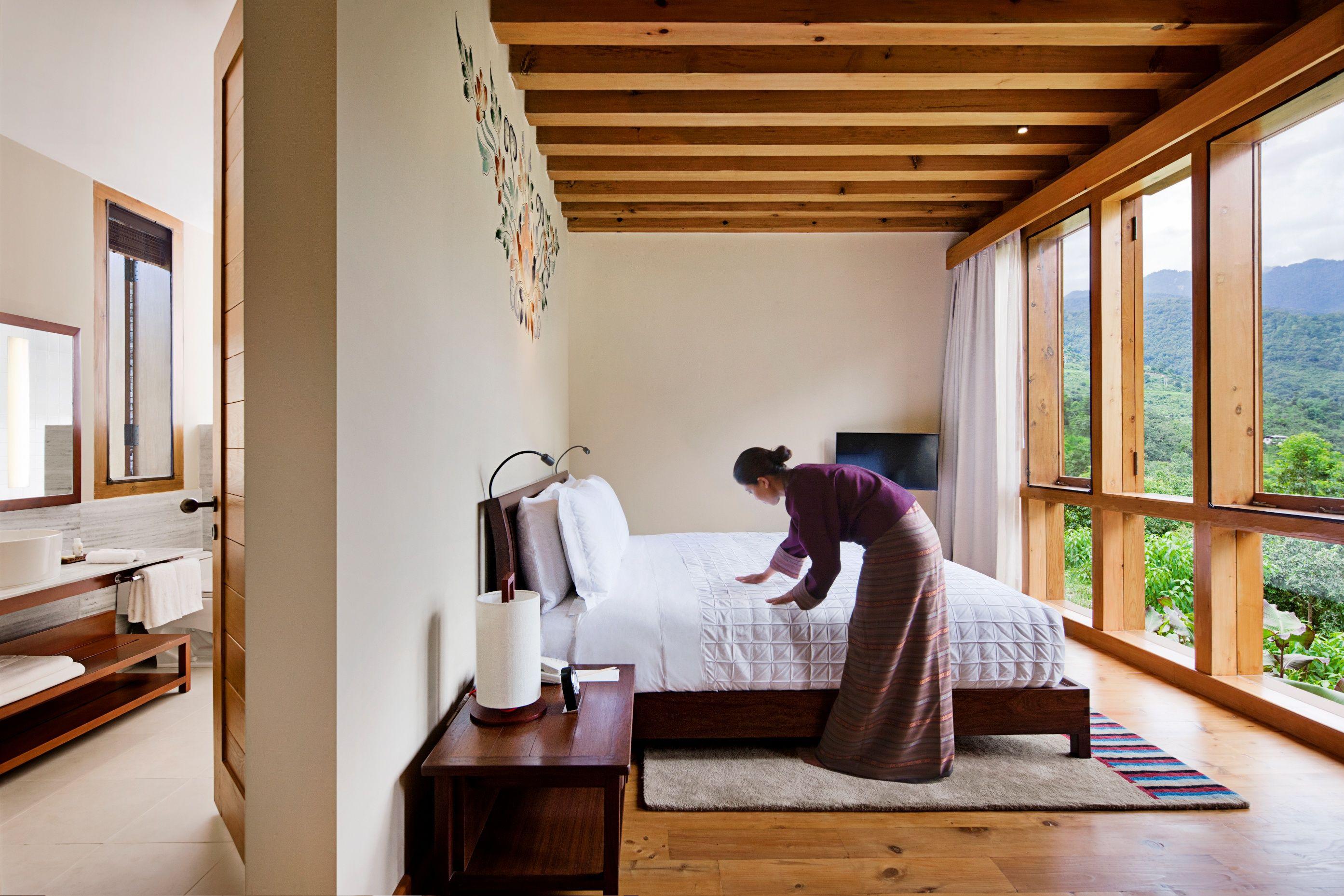 Bedroom At Uma Punakha, Bhutan