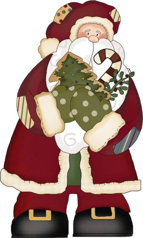 Primitive Christmas Clipart - Clipart Kid | Primitive ...