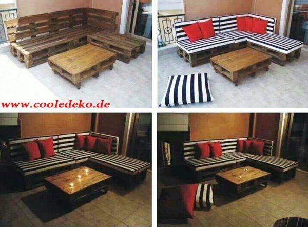 Möbel aus europaletten sofa  Möbel aus Europaletten sofas | house | Pinterest | Europaletten ...