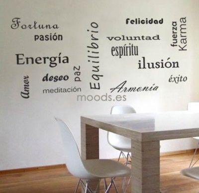 Resultado de imagen para decoracion con letras en paredes - Letras para pared ...