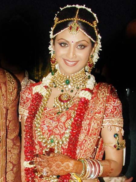 Bollywood Bride Shilpa Shetty Jewellery Indian