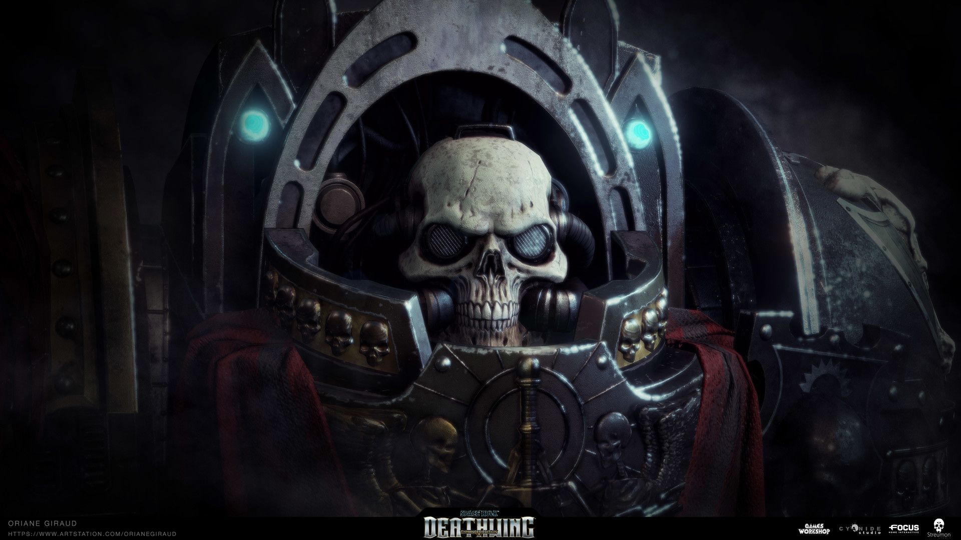 ArtStation - Space Hulk Deathwing - Interrogator Chaplain, Oriane