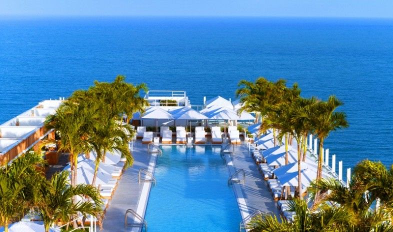 Pin By Patrick Di Rito On Beach South Beach Hotels Florida Hotels Hotel Pool