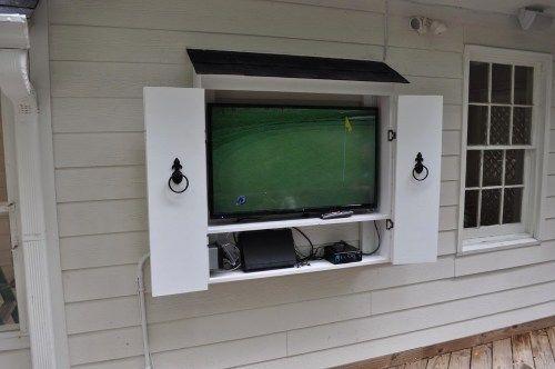 Waterproof Outdoor Tv Cabinet | YoshiHome