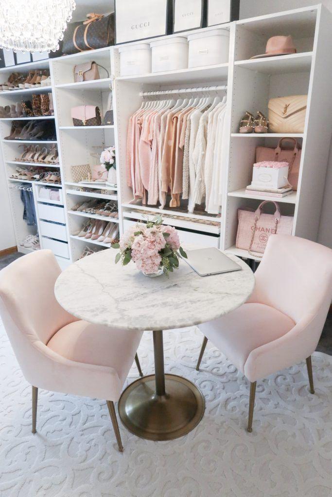 Photo of Closet + Office Tour – Lace & Lashes,  #Closet #diseñodedorm…