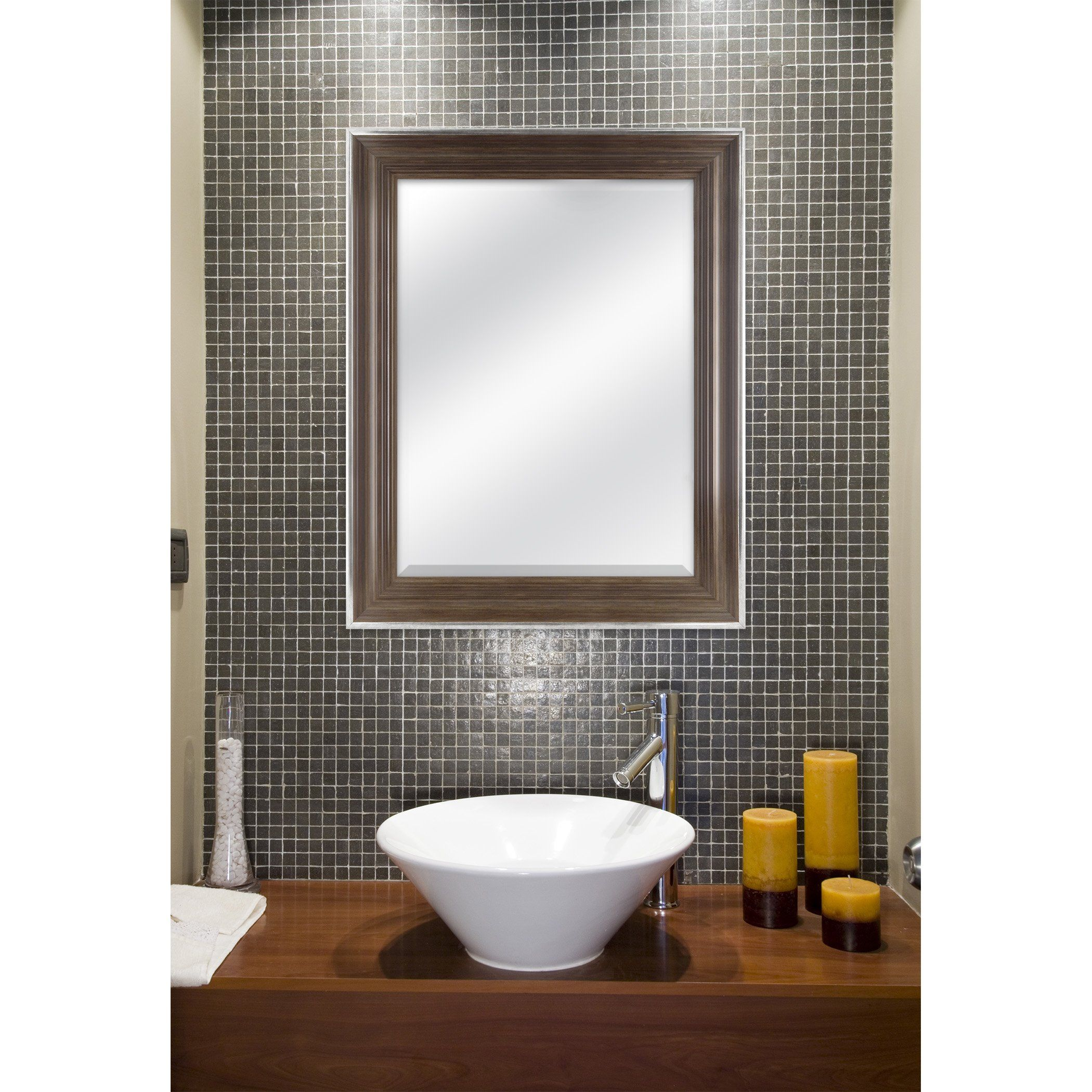 Mcs 18x24 Inch Scoop Mirror 23 5x29 5 Inch Overall Size Chestnut 20543 Check Out This Great Product This Is An Affiliate Link Mirror Chestnut Dimensions [ 2100 x 2100 Pixel ]