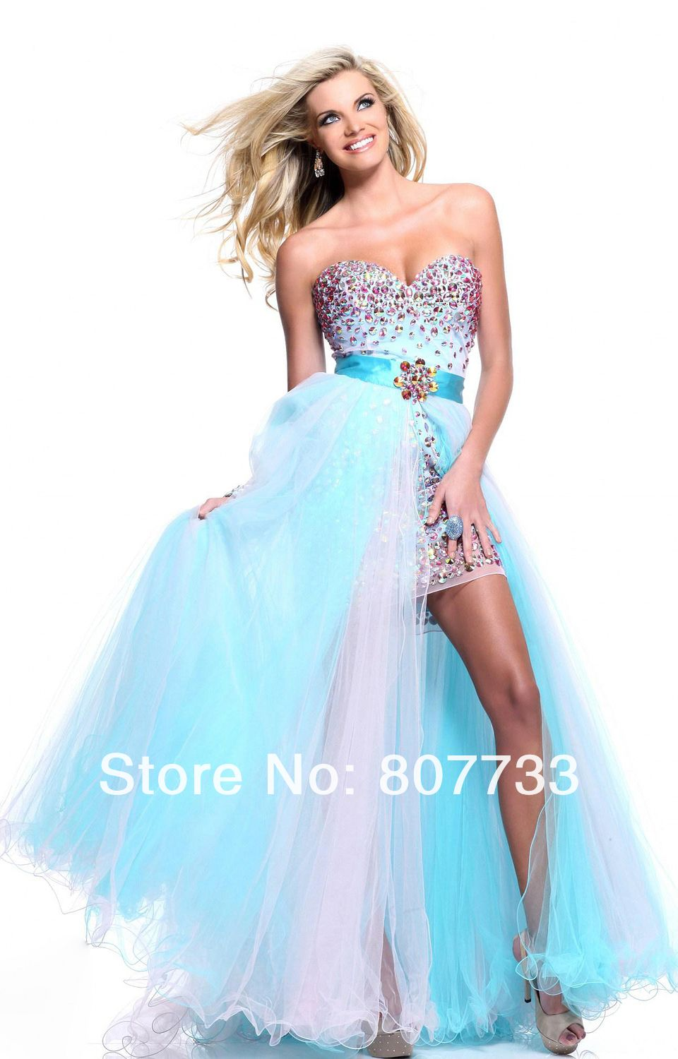 Two piece prom dress. Detachable Tulle Skirt | Prom Ideas ...