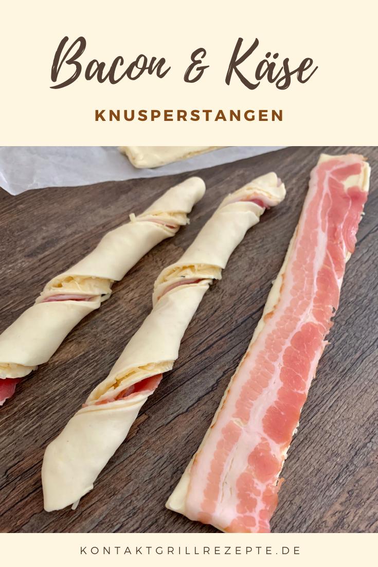 Bacon-Käse-Stangen