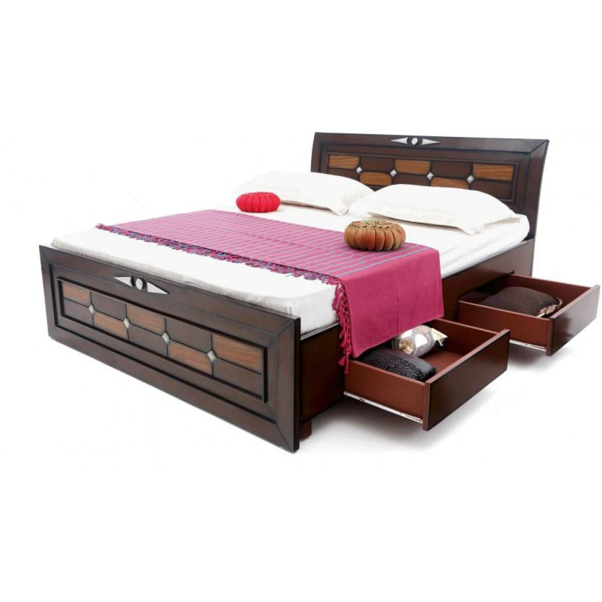 Gorevizon Prepared Wooden Storage Queen Size Bed Bed Designs With Storage Bed Design Wooden Bed Design