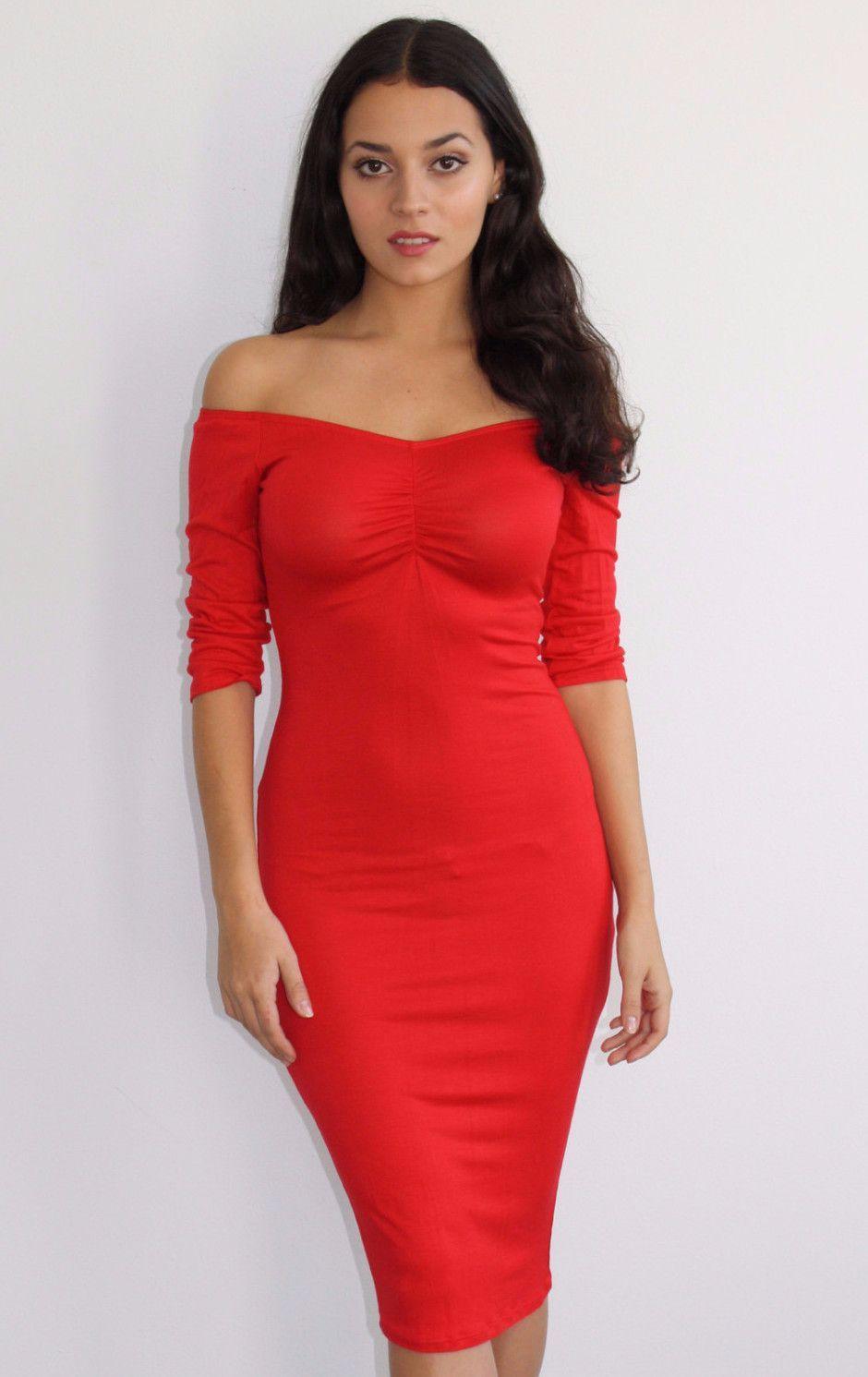 Sweetheart Midi Dress Bodycon Dress Midi Dress Bodycon Dresses [ 1491 x 940 Pixel ]