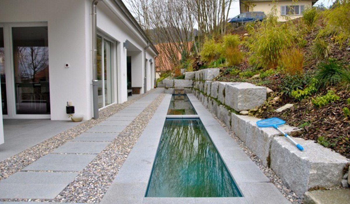 Galerie Der Moglichkeiten Individuelle Wasserbecken Aus Gfk In 2020 Wasserbecken Teich Gartenteich