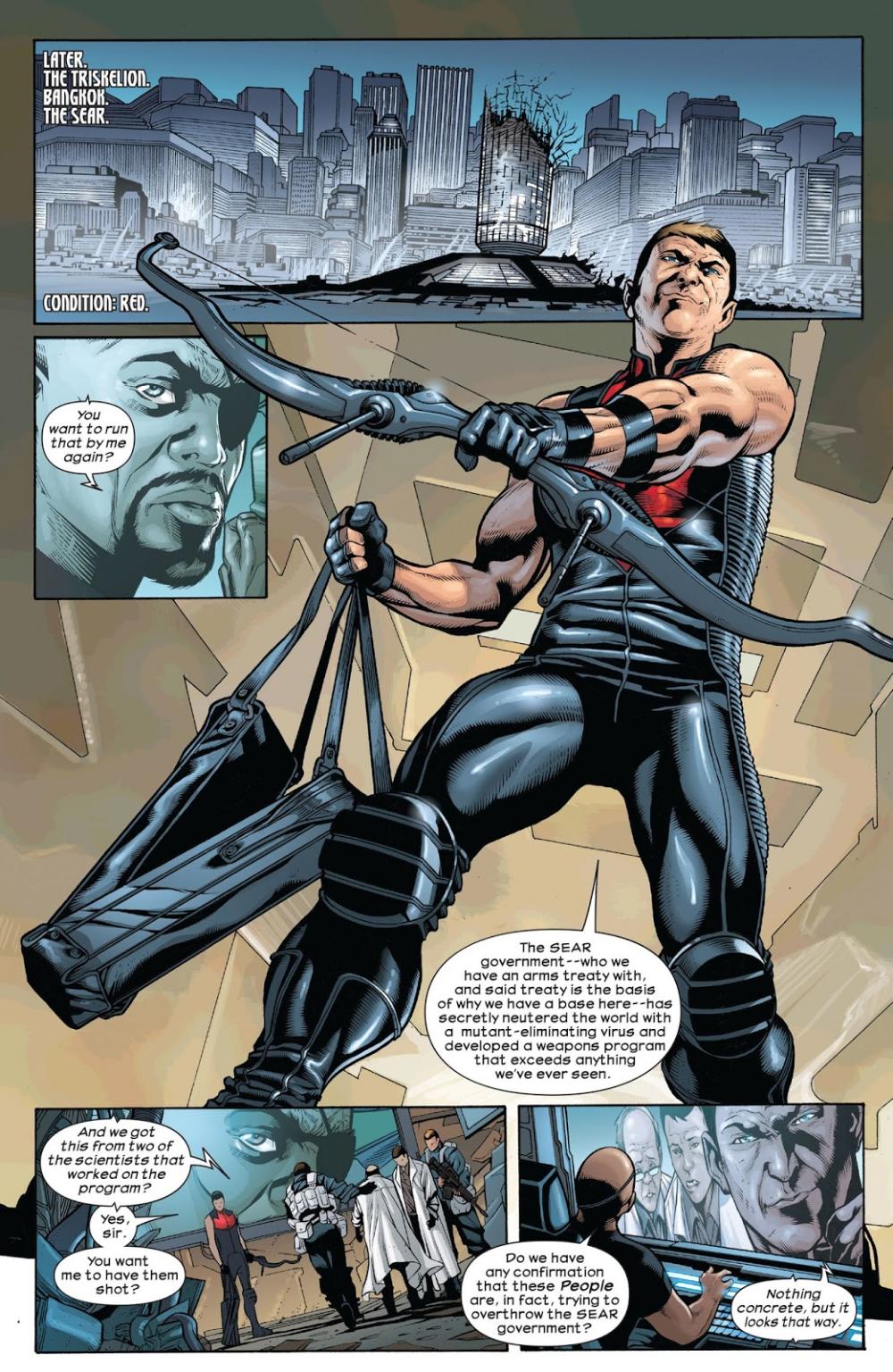 Ultimate Comics Hawkeye Issue #1 - Read Ultimate Comics Hawkeye Issue #1  comic online in high quality | Hawkeye, Avengers art, Comics online