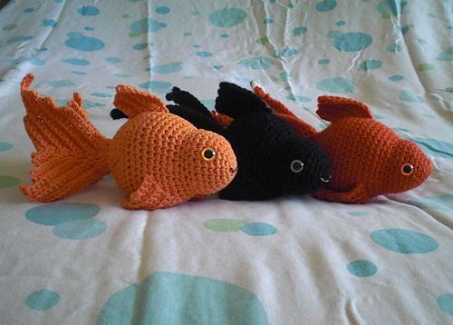 Amigurumi Fish Tutorial : Crochet goldfish patterns free watch the video tutorial