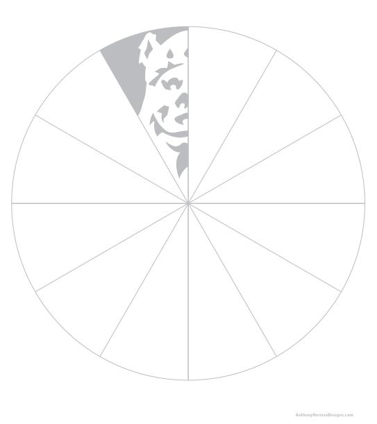Star Wars Paper Snowflake Template Ewok snowflake template ...